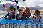 SAILING FUN: Enjoy the fun in Fenit at the Tralee Bay Sailing Club Spring Regatta on Saturday morning are l:r Liam Lynch, Donagh O'Buachalla, Jackie Browne and Eoghano O'Buachalla..   Copyright Kerry's Eye 2008