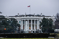 WASHINGTON, DC, EUA, 19.01.2019 - CASA-BRANCA - Vista da Casa Branca na cidade de Washington DC nos Estados Unidos (Foto: Vanessa Carvalho/Brazil Photo Press)