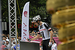 Tom Dumoulin (NED) Team Sunweb at sign on before the start of Stage 21 of the 2018 Giro d'Italia, running 115km around the centre of Rome, Italy. 27th May 2018.<br /> Picture: LaPresse/Marco Alpozzi | Cyclefile<br /> <br /> <br /> All photos usage must carry mandatory copyright credit (&copy; Cyclefile | LaPresse/Marco Alpozzi)