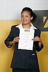 Girls Waka Ama winner Courtney Sihamu. ASB College Sport Young Sportperson of the Year Awards 2007 held at Eden Park on November 15th, 2007.