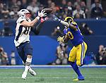 ATLANTA, GA - FEBRUARY 3:  middle of fourth quarter to Super Bowl LIII at Mercedes-Benz Stadium in Atlanta, Georgia on February 3, 2019. (Staff Photo By Christopher Evans/MediaNews Group/Boston Herald)