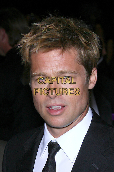 BRAD PITT.18th Annual Palm Springs International Film Festival Hosts Star-Studded Awards Gala held at the Palm Springs Convention Center, Palm Springs, California, USA,.6 January 2007..portrait headshot black suit tie.CAP/ADM/ZL.©Zach Lipp/Admedia/Capital Pictures