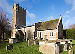 Historic village parish church of All Saints, Marden, Wiltshire, England, UK Vale of Pewsey