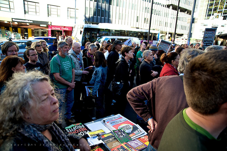 Rally for Assange and Wikileaks, Sydney CBD 15.07.12