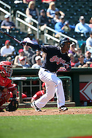 Jose Ramirez - Cleveland Indians 2016 spring training (Bill Mitchell)