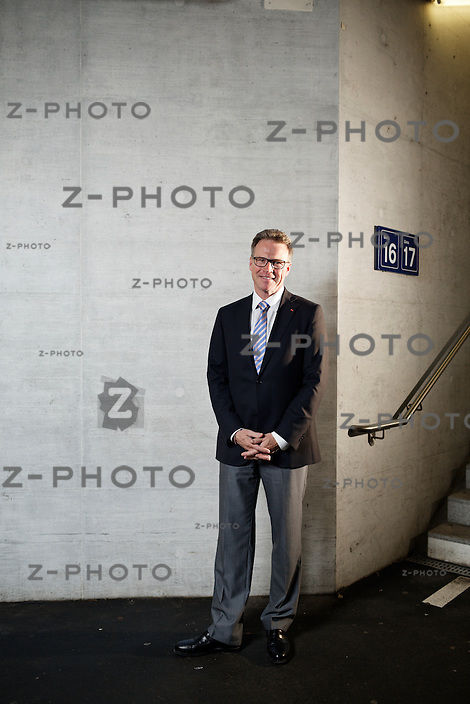 Portrait und Interview mit Andreas Meyer, CEO SBB in Zürich am 2. Mai 2013..Copyright © Zvonimir Pisonic