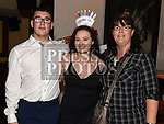 Bethany Conlon celebrating her 18th birthday in McHughs with boyfriend Saleen Bellot and Saleen's mother Eithne Reilly. Photo:Colin Bell/pressphotos.ie