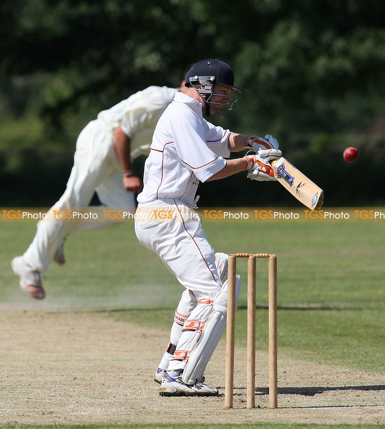 G Noller of Hornchurch edges an S Mendes delivery and is caught behind - Horndon-on-the-Hill CC vs Hornchurch CC - Essex Cricket League - 28/06/08 - MANDATORY CREDIT: Gavin Ellis/TGSPHOTO - Self billing applies where appropriate - Tel: 0845 094 6026.