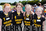 Gaelscoil Aogain Castleisland girls Shauna Wilkinson, Leah Burke, Deidre Moynihan and Holly Horan at the County Primary schools athletics championships in An Riocht Castleisland on Saturday