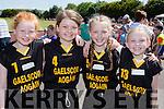 Gaelscoil Aogain Castleisland girls Shauna Wilkinson, Leah Burke, Deidre Moynihan and Holly Horan at the County Primary schools athletics championships in An Riocht Castleisland on Saturday