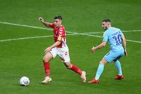 Josh Cullen of Charlton, on loan from West Ham, in action during Charlton Athletic vs Coventry City, Sky Bet EFL League 1 Football at The Valley on 6th October 2018