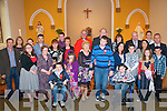 Nano Nagle School Confirmation: Children from the Nano Nagle School. Listowel who were confirmed at the Hospital Church, Listowel by Fr. Decl;an O'Connor on saturday last. Those confirmed were Patrick Dunne, Ethan Flaherty, Kevin McNamara & Sarah Casey.