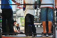 SAO PAULO, SP,  30 DE JUNHO  - 6 EDICAO DA VIRADA ESPORTIVA EM SAO PAULO- Neste sabado 30 de junho acontece a 6 edicao da virada esportiva na capital paulista, em 1.100 pontos da cidade divididas em 3 mil atracoes gratuitas. Vale de anhangabau, Regiao Central. FOTO: GEORGINA GARCIA/ BRAZIL PHOTO PRESS.