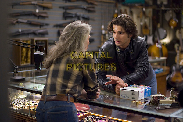 PHYLLIS SOMMERVILLE & ERIC BANA.in Lucky You .**Editorial Use Only**.CAP/FB.Supplied by Capital Pictures