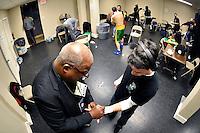 Scott Kelleher fights Jack Grady at the 2300 Arena, Friday, Nov. 20, 2015, in Philadelphia. (Derik Hamilton Images)