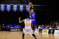 Saints&rsquo; Leon Henry in action during the NBL - Cigna Saints v Hawkes Bay Hawks at TSB Arena, Wellington, New Zealand on Sunday 27 May 2018.<br /> Photo by Masanori Udagawa. <br /> www.photowellington.photoshelter.com
