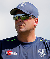 Kent coach Matt Walker looks on during the Royal London One Day Cup game between Kent and Gloucestershire at the County Ground, Beckenham, on June 3, 2018