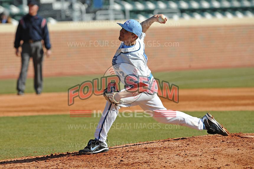 Patrick Johnson (Pitcher) North Carolina Tar Heels (Photo by Tony Farlow/Four Seam Images)
