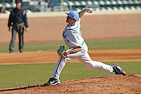 Patrick Johnson (Pitcher) North Carolina Tar Heels (Photo by Tony Farlow/Four Seam Images)
