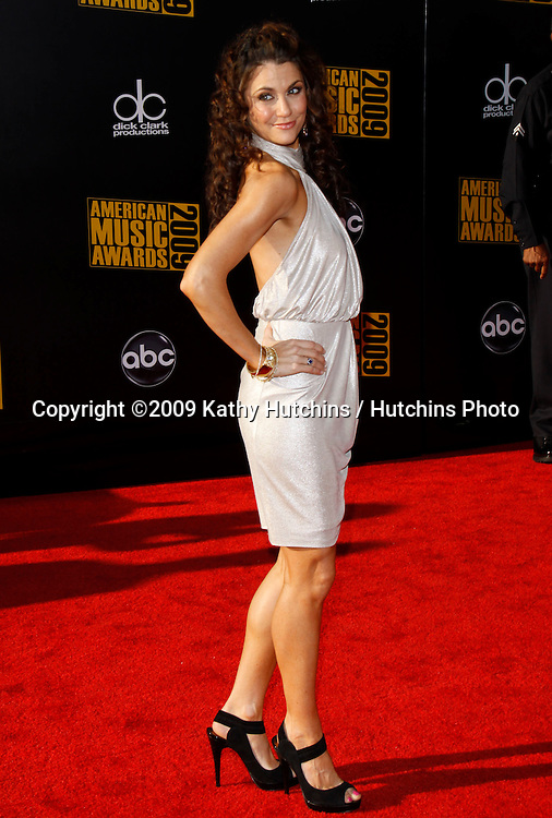 Samantha Harris.The 2009 American Music Awards - Arrivals.Nokia Theatre L.A. Live.Los Angeles, CA.November 22, 2009.©2009 Hutchins Photo....