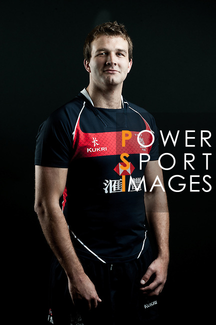Tim Alexander poses during the Hong Kong 7's Squads Portraits on 5 March 2012 at the King's Park Sport Ground in Hong Kong. Photo by Andy Jones / The Power of Sport Images for HKRFU