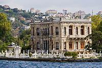 Europe/Turquie/Istanbul : Quartier de küçüksu    Küçüksu Kasri Pavillon de chasse du sultan sur la rive orientale