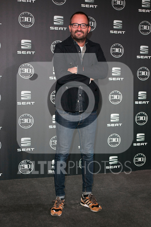 Fernando Gonzalez Molina attends the 30th Anniversary Party Of Seat IBIZA Car at COAM in Madrid, Spain. November 6, 2014. (ALTERPHOTOS/Carlos Dafonte)