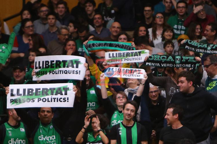 Liga ENDESA 2019/2020. Game: 14.<br /> Club Joventut Badalona vs FC Barcelona: 80-95.