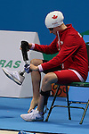 Rio de Janeiro-9/9/2016- Samantha Ryan competes in the women's 50m free during the swimming  at the 2016 Paralympic Games in Rio. Photo Scott Grant/Canadian Paralympic Committee
