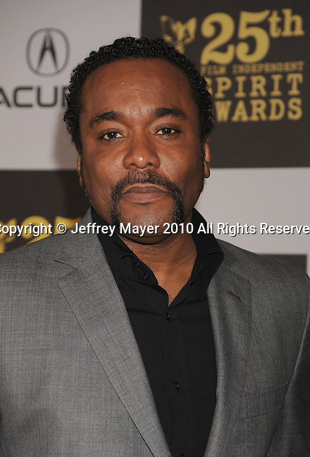 LOS ANGELES, CA. - March 05: Director Lee Daniels arrives at the 25th Film Independent Spirit Awards held at Nokia Theatre L.A. Live on March 5, 2010 in Los Angeles, California.