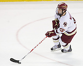 Joe Whitney (BC - 15) - The Boston College Eagles defeated the University of Massachusetts-Amherst Minutemen 6-5 on Friday, March 12, 2010, in the opening game of their Hockey East Quarterfinal matchup at Conte Forum in Chestnut Hill, Massachusetts.