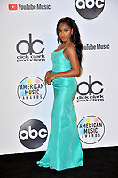 LOS ANGELES, CA. October 09, 2018: Normani at the 2018 American Music Awards at the Microsoft Theatre LA Live.<br /> Picture: Paul Smith/Featureflash