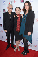 LOS ANGELES, CA - OCTOBER 16: Michael Chieffo, Beth Grant and Mary Chieffo at the National Breast Cancer Coalition Fund's 16th Annual Les Girls Cabaret at Avalon Hollywood on October 16, 2016 in Los Angeles, California. Credit: David Edwards/MediaPunch