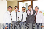 Pictured at the wedding of Muhammed Tayyab and Nousheen Sultan in Ballyroe Heights Hotel, Tralee, last Saturday.