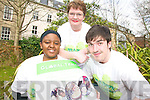GLOBAL: Members of KADE who are organising a Global Tralee event in Tralee on St Patrick's Day, l-r: Nogugu Mafu, Mary Foley, Tom McGrath.