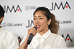 Miho Nonaka, <br /> AUGUST 3, 2016 - Sports Climbing :<br /> Japan Mountaineering Association holds a press conference<br /> after it was decided that the sport of <br /> Sports Climbing would be added to the Tokyo 2020 Summer Olympic Games<br /> on August 3rd, 2016 in Tokyo, Japan.<br /> (Photo by AFLO SPORT)
