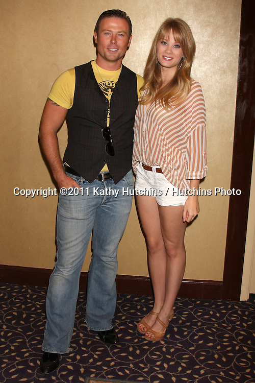 LOS ANGELES - AUG 27:  Jacob Young, Kim Matula attending the Bold & The Beautiful Fan Event 2011 at the Universal Sheraton Hotel on August 27, 2011 in Los Angeles, CA