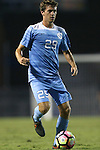 13 September 2016: North Carolina's Jeremy Kelly. The University of North Carolina Tar Heels hosted the East Tennessee State University Buccaneers at Fetzer Field in Chapel Hill, North Carolina in a 2016 NCAA Division I Men's Soccer match. ETSU won the game 1-0 in sudden death overtime.