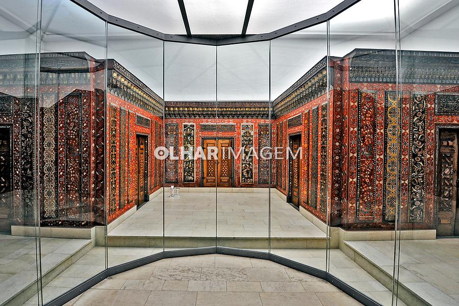The Aleppo Room. Exposiçao Pergamon Museum em Berlin. Alemanha. 2011. Foto de Juca Martins.