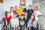 Paddy O'Rourke from Ballyduff celebrating his 18th birthday in Bella Bia on Thursday.<br /> Seated l to r: Pa O'Rourke, Susan Condon.<br /> Back l to r: John Harty, Caoimhe Henry, Heather O'Rourke, Craig and Alex Locke, Pa and Rebecca O'Rourke.