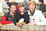Back at their desk for the 50th anniversary celebrations of Knocknagree National School on Sunday were Noreen Cronin, Lisa Ni Iarlaithe and Eileen Walsh...PR SHOT.. NO REPRODUCTION FEE...............