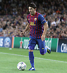 UEFA Champions League, Spain, Camp Nou, FC Barcelona v Viktoria Plzen. Picture show David Vila