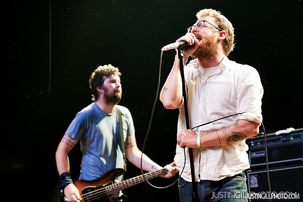 Live concert photo of Murder City Devils @ Congress Theater Chicago Riot Fest by http://www.justingillphoto.com