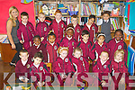 Pictured on their first day of school in Moyderwell Primary School, Tralee on Thursday:.Back row l-r: Jason Maher, Raivo Posts, Owen Walsh, William Sheerin, Shay Kelliher, Jinna Kicova.Middle row l-r: Noel Roberts, Sofia Abdrhman, Jennifer Olanrewayn, Robert Balogova, Amanda Ardleanova, Queeneth Amazu.Front row l-r: Martin Quilligan, Sied Harazi, Destiny McCarthy, Leona Quilligan, Josh Bentley, Maja Amborska.