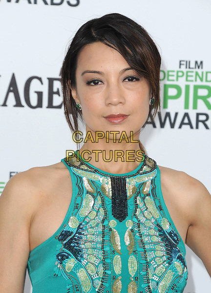SANTA MONICA, CA, MARCH 01: Ming-Na Wen at The 2014 Film Independent Spirit Awards held at Santa Monica Beach in Santa Monica, California, USA on March 1st, 2014.                                                                              <br /> CAP/DVS<br /> &copy;Debbie VanStory/Capital Pictures