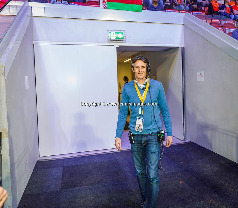 The Hague, The Netherlands, Februari 7, 2020,    Sportcampus, FedCup  Netherlands -  Balarus,  Guus van Berkel<br /> Photo: Tennisimages/Henk Koster