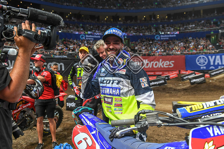 SX 2 / Jay Wilson 2018 Series Champion<br /> 2018 SX Open - Sydney <br /> Australian Supercross Championships<br /> Qudos Bank Area / Sydney Aus<br /> Saturday Nov 10th 2018<br /> &copy; Sport the library/ Jeff Crow / AME