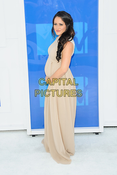 28 August 2016 - New York, New York - Jenelle Evans.  2016 MTV Video Music Awards at Madison Square Garden. <br /> CAP/ADM/MSA<br /> &copy;MSA/ADM/Capital Pictures