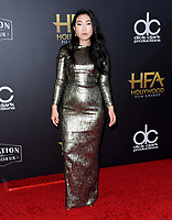04 November 2018 - Beverly Hills, California - Awkwafina. 22nd Annual Hollywood Film Awards held at Beverly Hilton Hotel. <br /> CAP/ADM/BT<br /> &copy;BT/ADM/Capital Pictures