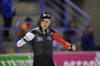 SCHAATSEN: CALGARY: Olympic Oval, 08-11-2013, Essent ISU World Cup, 500m, Jamie Gregg (CAN), ©foto Martin de Jong